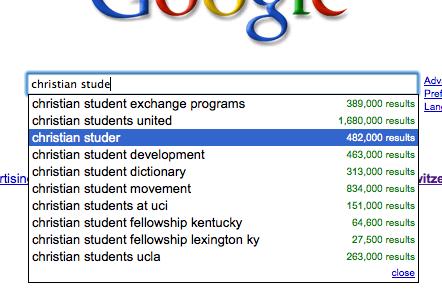 Google Faktor für Christian Studer